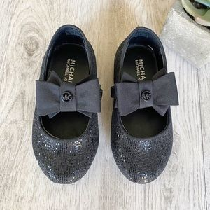 Michael Kors Bow Logo Toddler Baby Girl Shoes
